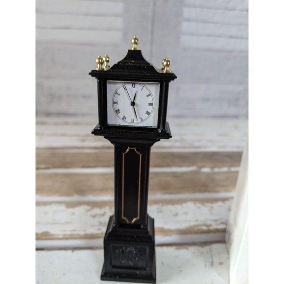 Dept 56 town clock metal accessory heritage villag